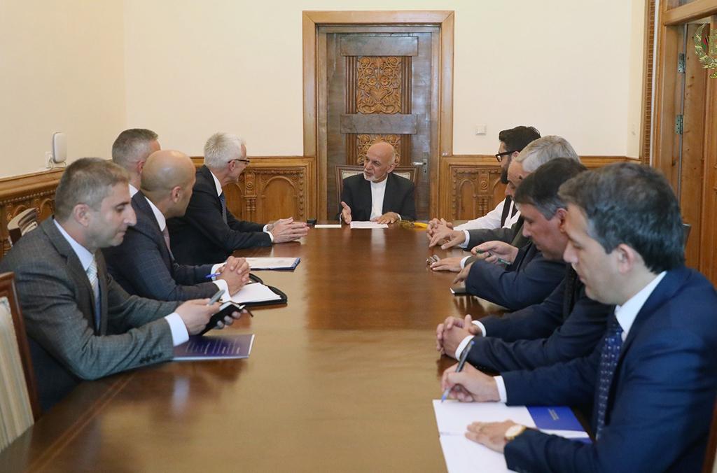 تسعى أفغانستان والإنتربول إلى تعزيز التعاون في المجالات الأمنية الرئيسية.