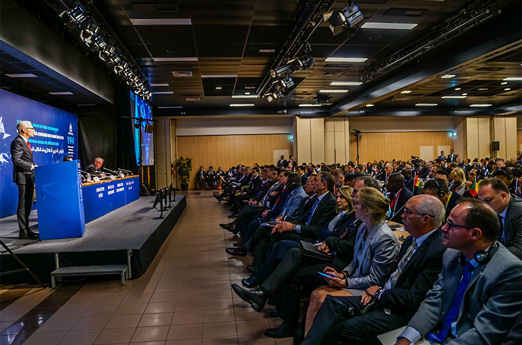 INTERPOL's 15th annual meeting of Heads of National Central Bureaus brought together 315 senior police officials from 150 countries.