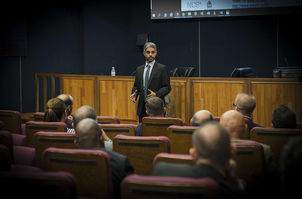 Falah Al Dosari, Project Stadia's senior manager, said involving academia in police training through collaboration with NCS4 allows senior law enforcement officials from around the world to learn from their counterparts and develop the knowledge to safeguard major national and international sporting events.