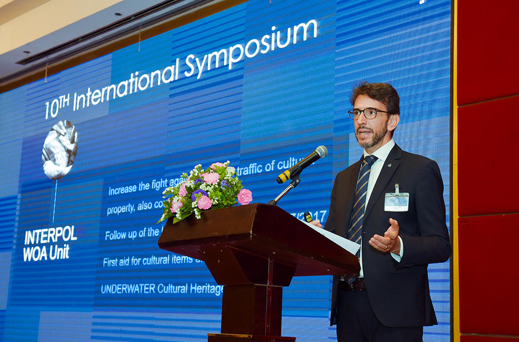 The protection of cultural property in conflict zones, and the possible link between art theft and the financing of terrorism was high on the symposium's agenda.