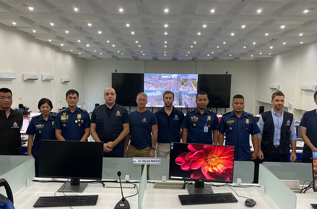 INTERPOL's IMEST team assisted local authorities as part of the security infrastructure surrounding the Southeast Asian Games