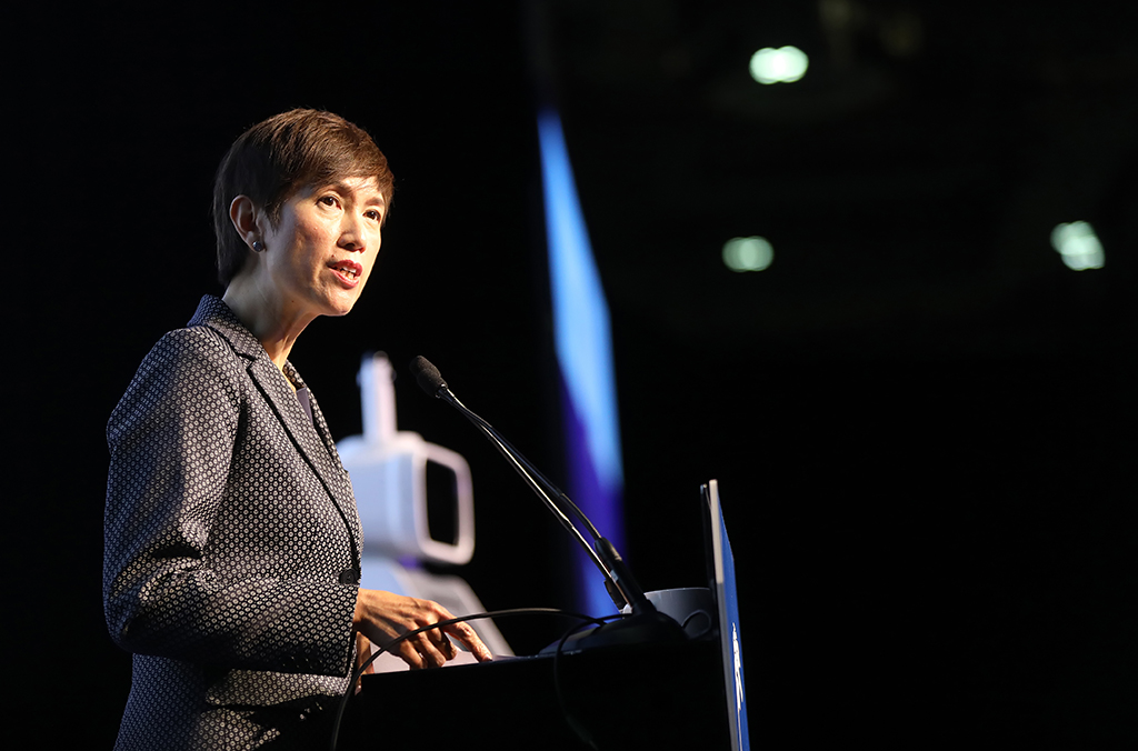 Josephine Teo, Singapore Minister for Manpower and Second Minister for Home Affairs.