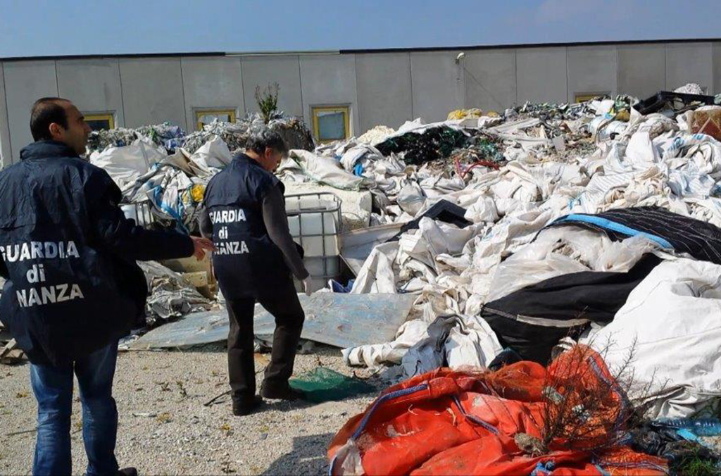 The report highlights an increase in illegal waste fire and landfills in Europe and Asia