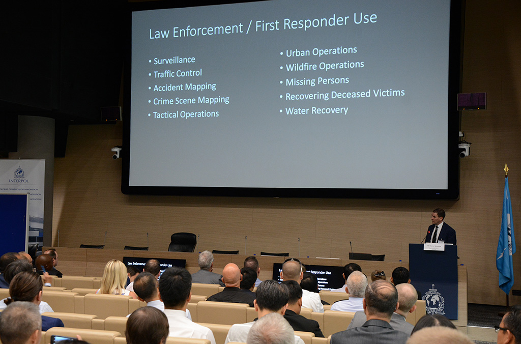 In his keynote speech, Steve Watson, CEO of VTO Labs, said the impact of drone activity on law enforcement continues to increase every day.