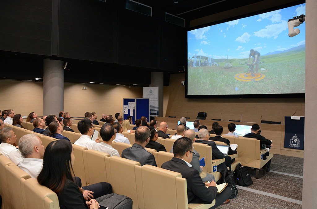 The conference, organized by the INTERPOL Innovation Centre and Counter-Terrorism unit, brought together nearly 100 experts from law enforcement, academia and private industry.