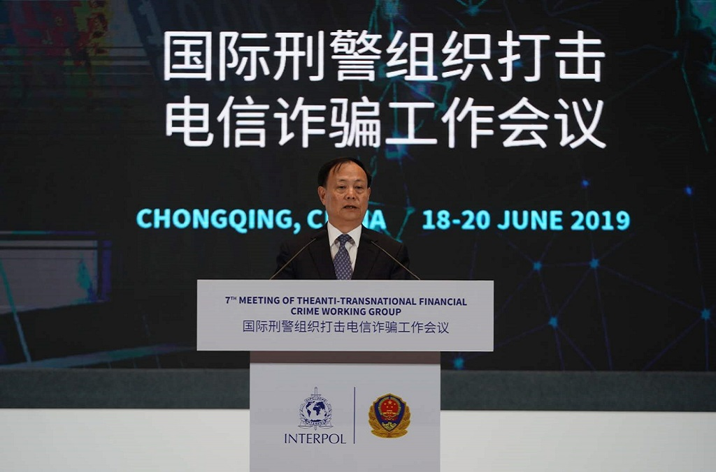 Meng Qingfeng, Vice Minister of Public Security of China.