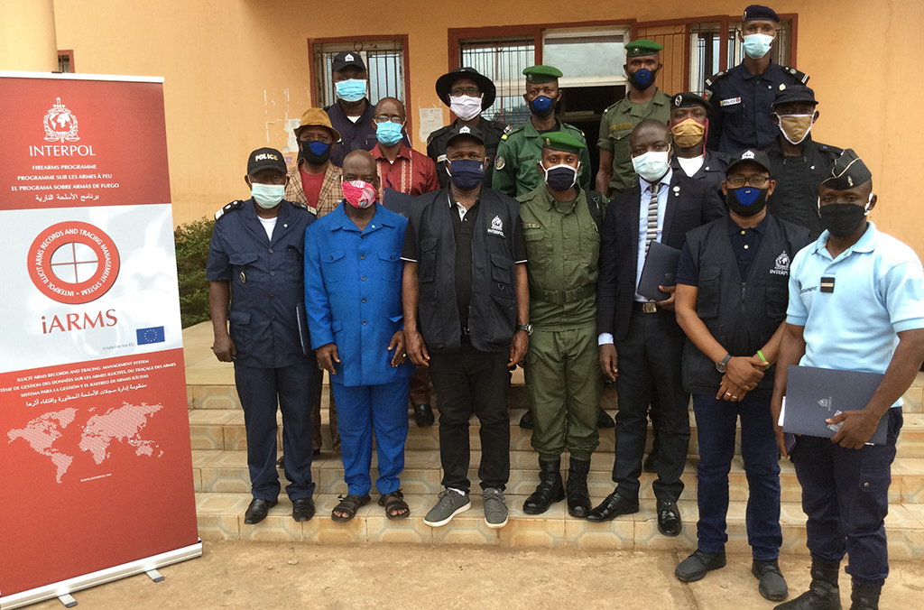 Training on the iARMS database has equipped officers in Guinea to exploit intelligence on trafficked firearms.