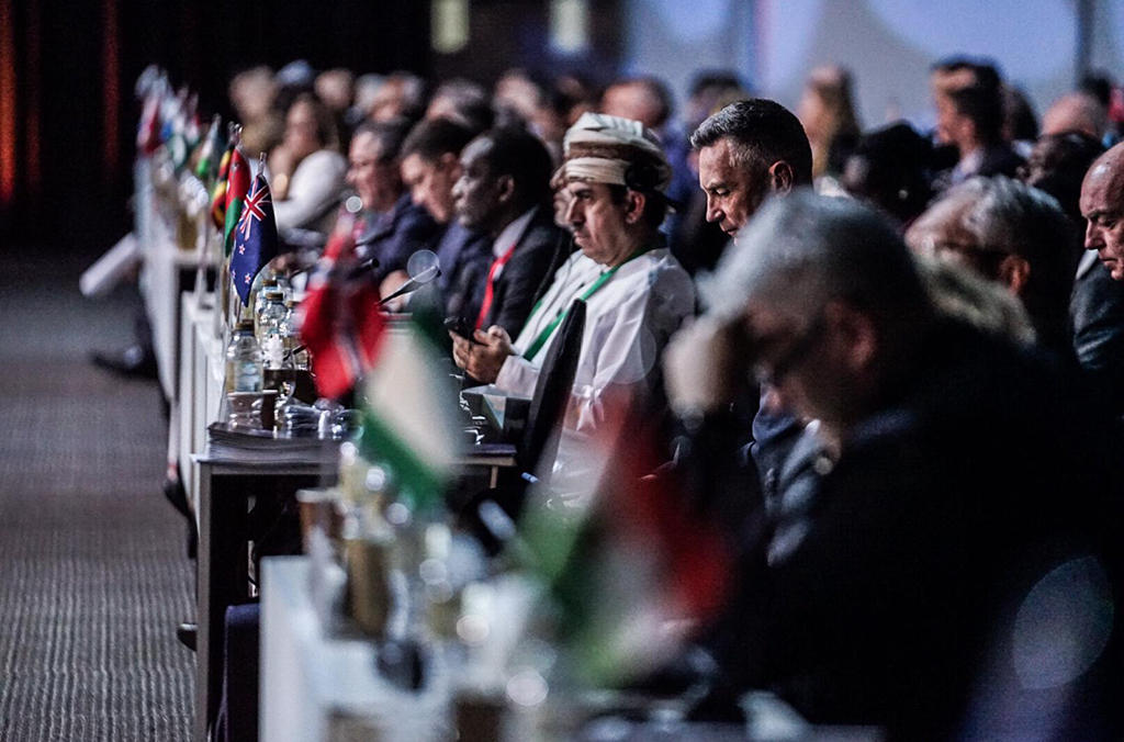 Delegates at the 87th General Assembly in Dubai.