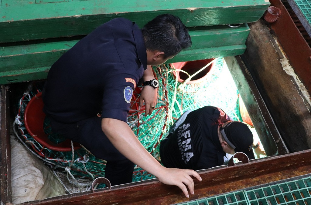 The vessel is suspected of transnational fisheries-related crimes committed by its owners and operators, including illegal fishing, document fraud, the manipulation of shipborne equipment, illegal open-sea transshipments and serious identity fraud.