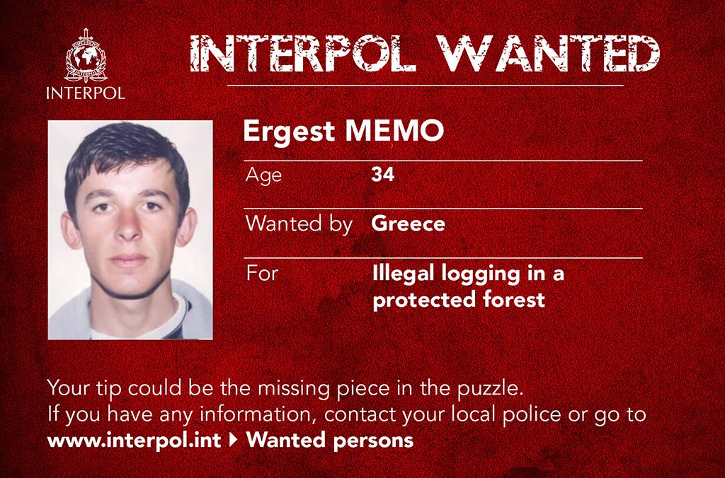 Interpol Liste