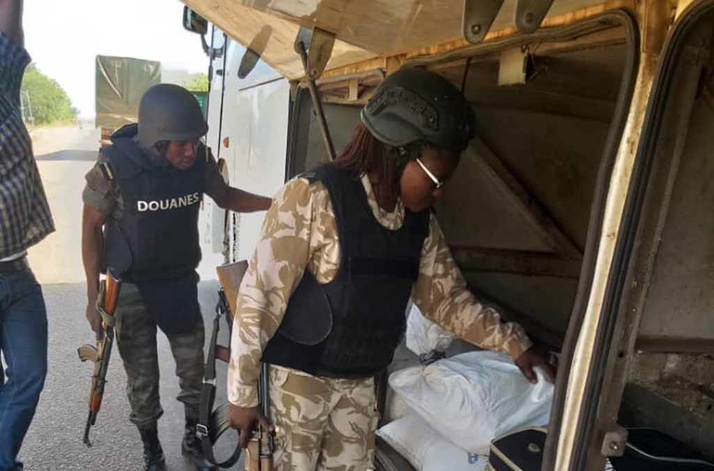Operation KAFO targeted firearms trafficking hotspots such as land border points where cars, buses, trucks and cargo transporters were searched.