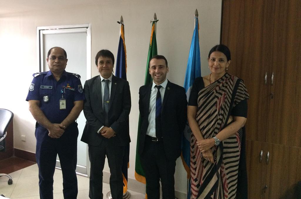 Project Team at NCB Dhaka