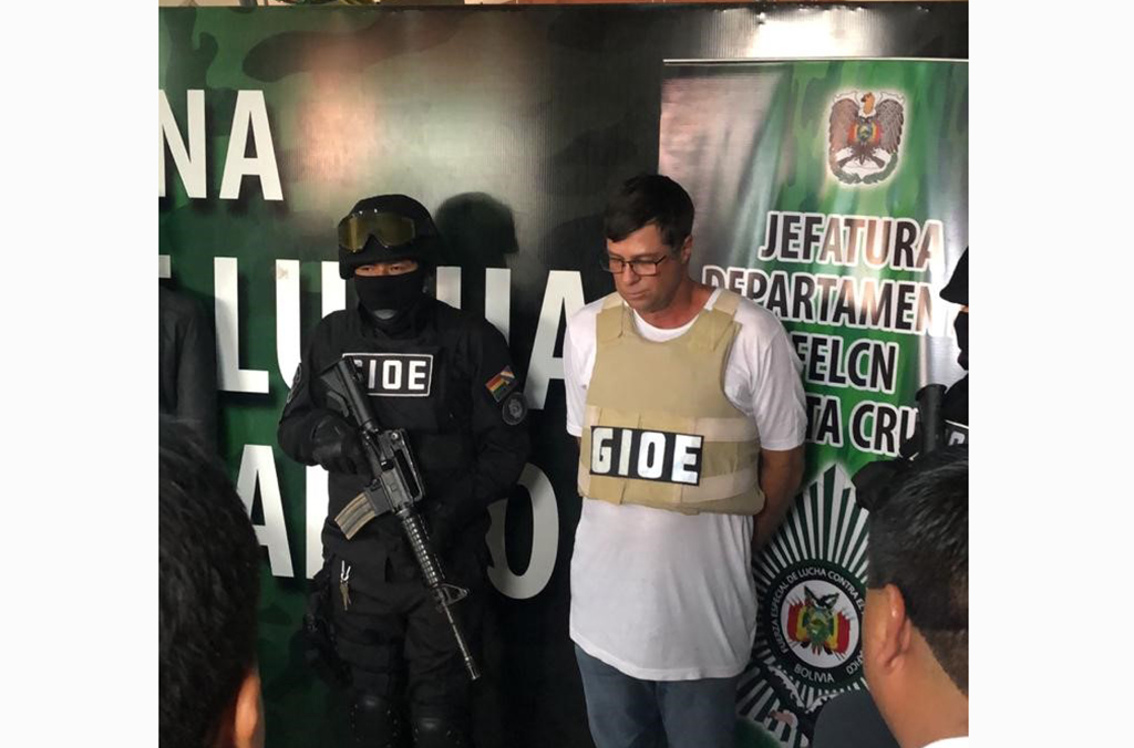 Gilmar José Bassegio, the head of an international drug trafficking ring who killed a police officer in Brazil, was arrested in Bolivia some 17 years after he fled the country.