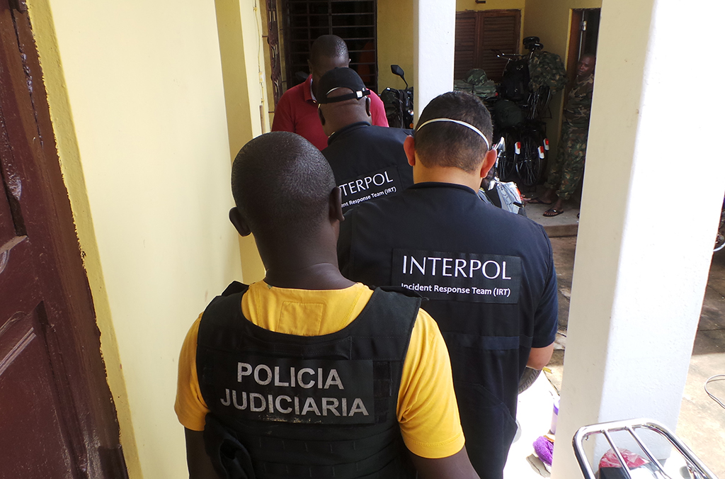Officers from Brazil's Federal Police and Colombia's National Police joined the INTERPOL team.