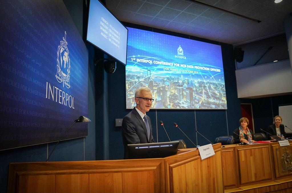 INTERPOL Secretary General Jürgen Stock told the Data Protection Officers attending the meeting that  data protection is key to INTERPOL's mission and activities, its good governance and accountability.