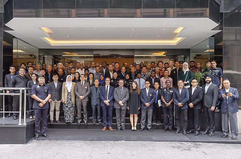 The INTERPOL-IOC training brought together more than 130 representatives from Malaysian law enforcement, government, betting entities and sports organizations, as well as representatives from Indonesia.