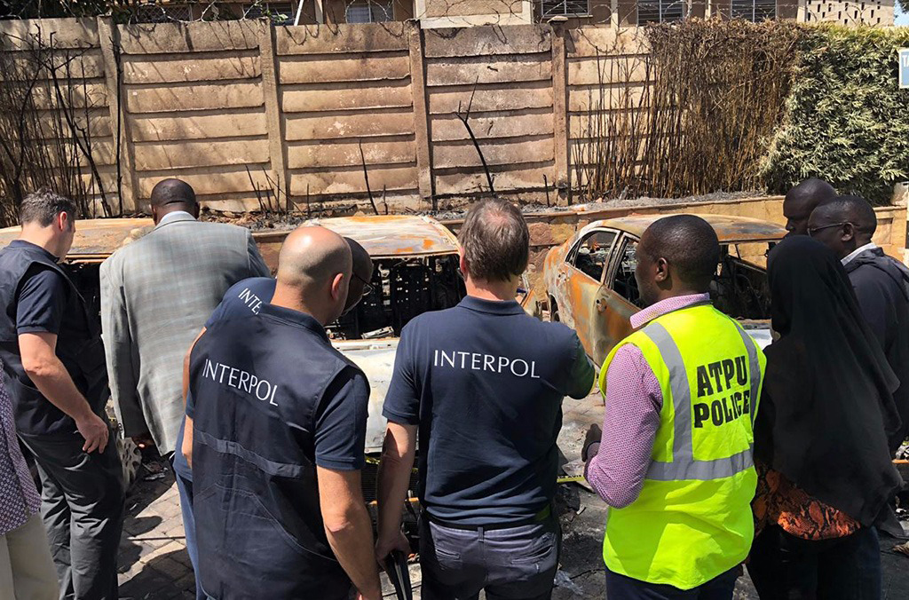 Nairobi Riverside terrorist attack 2019 - INTERPOL