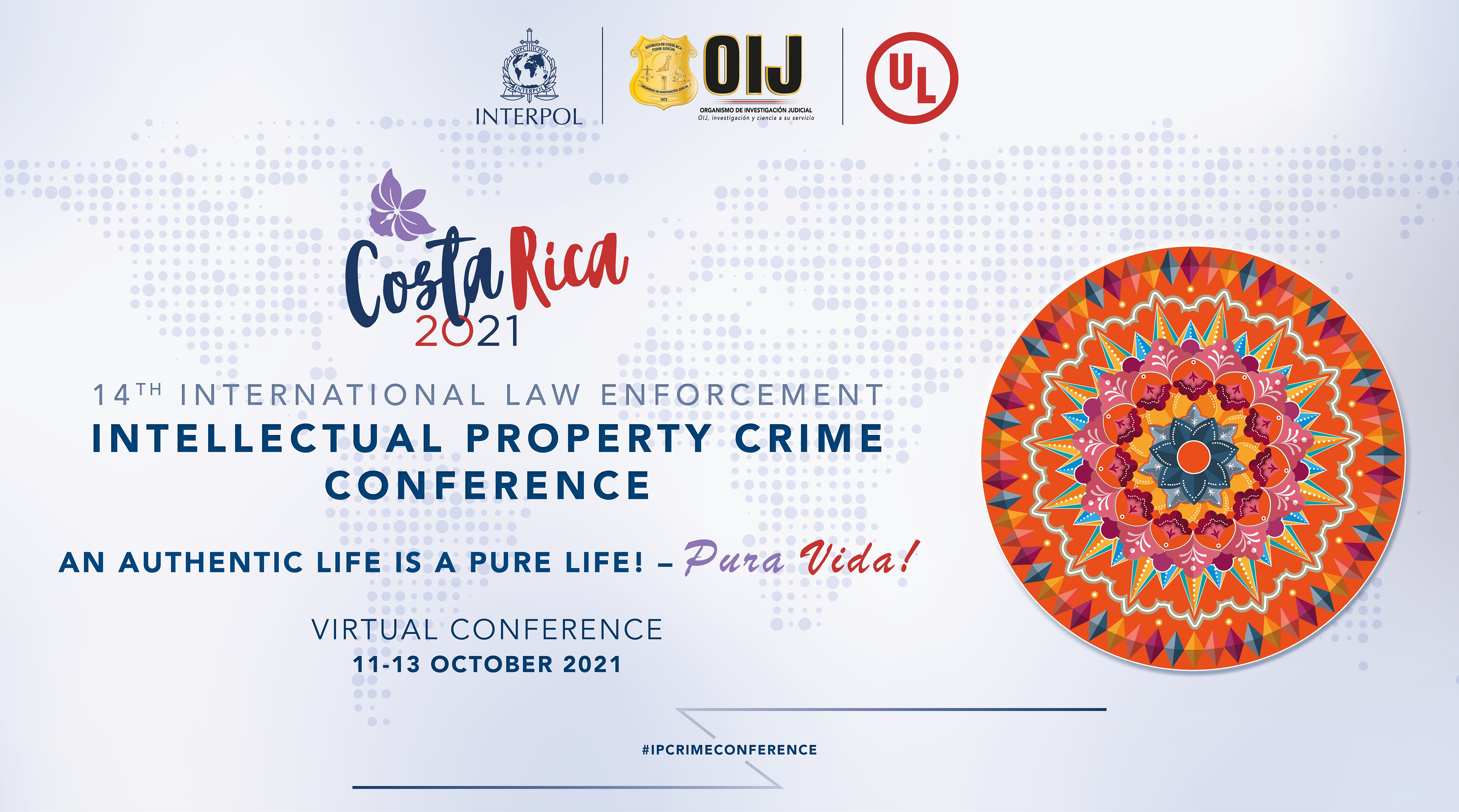 14th IP Crime Conference - Costa Rica - poster