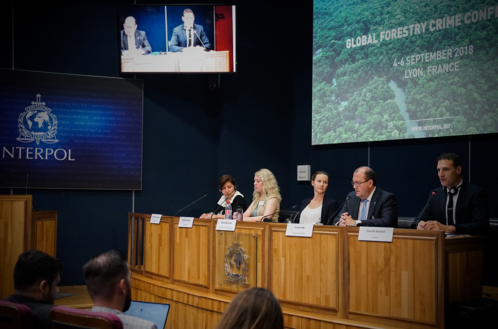 Forestry crime experts meet at the INTERPOL headquarters to explore ways to boost global forestry security through technological innovation and stronger international police cooperation.