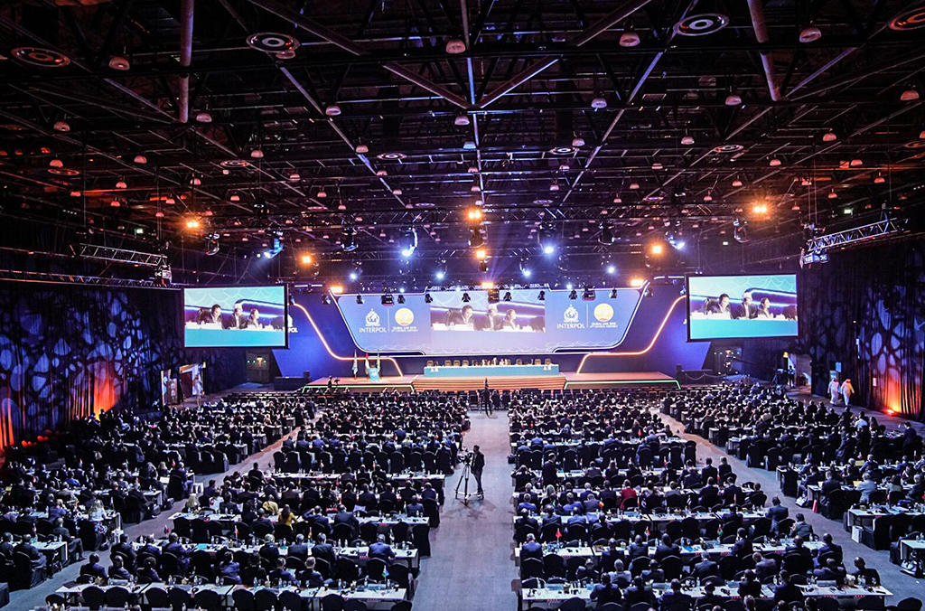 Policing in the information age is the theme of the 87th INTERPOL General Assembly in Dubai.