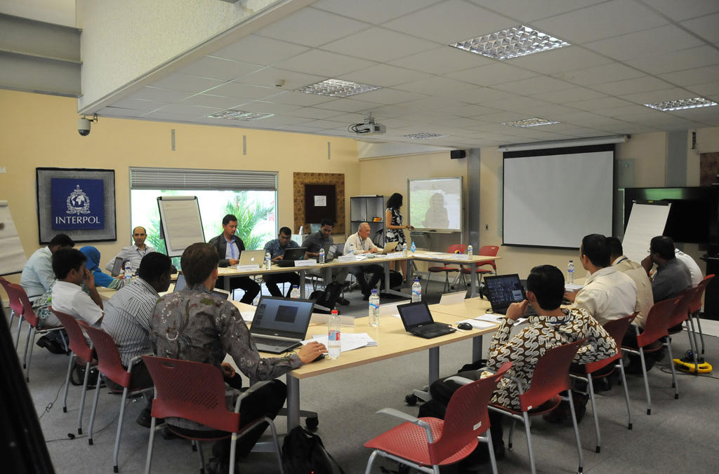 Curso de formación de formadores impartido en el Centro de Yakarta para la Cooperación Policial, sito en Indonesia (diciembre de 2017)