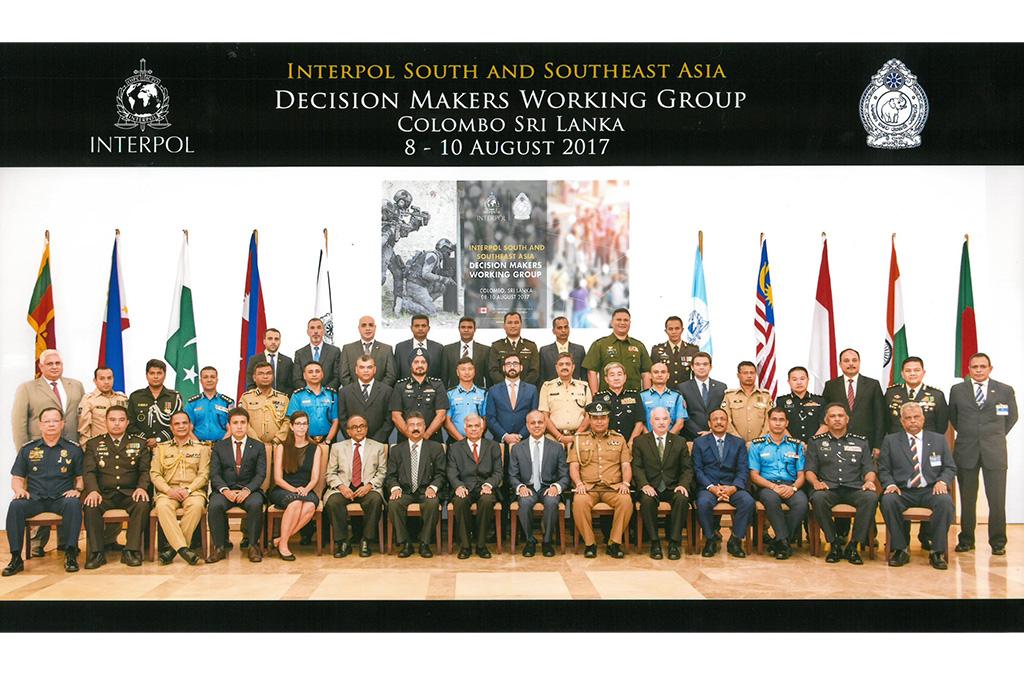 Reunión del Grupo de Trabajo de los responsables del proyecto Scorpius celebrada en Colombo (Sri Lanka) en agosto de 2017