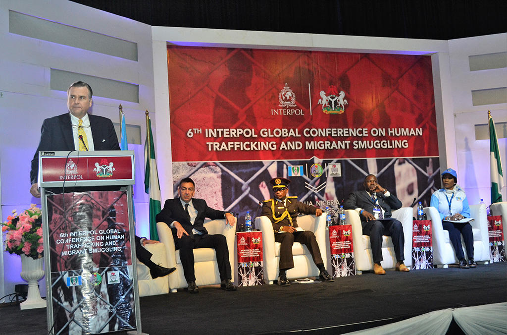 Stuart Symington, US Ambassador to Nigeria highlighted the value of forming strong networks against those that seek to do harm.