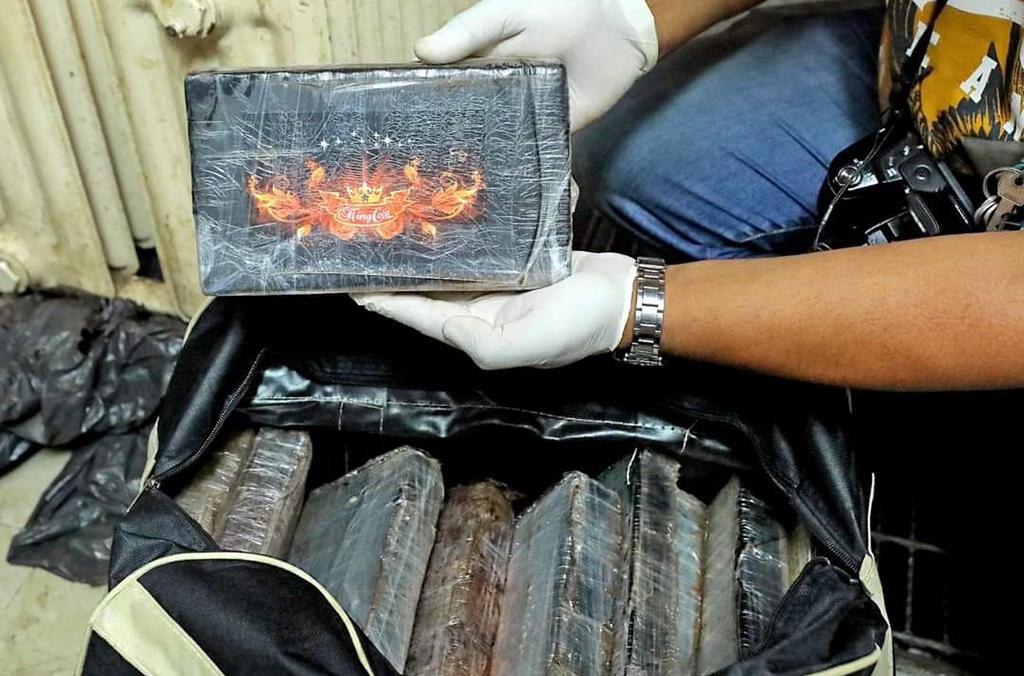 La Policía de Sudáfrica se incautó de 973 bloques de cocaína, valorados en 32 millones de euros.
