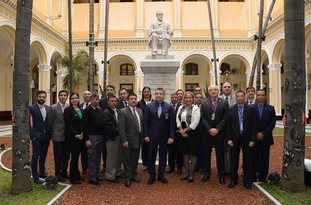 The training course in Buenos Aires was attended by 27 law enforcement officers from 17 countries.