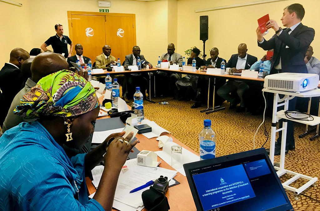 Boosting border security in West Africa by developing its ability to detect and investigate counterfeit travel document crime was the focus of an INTERPOL course.