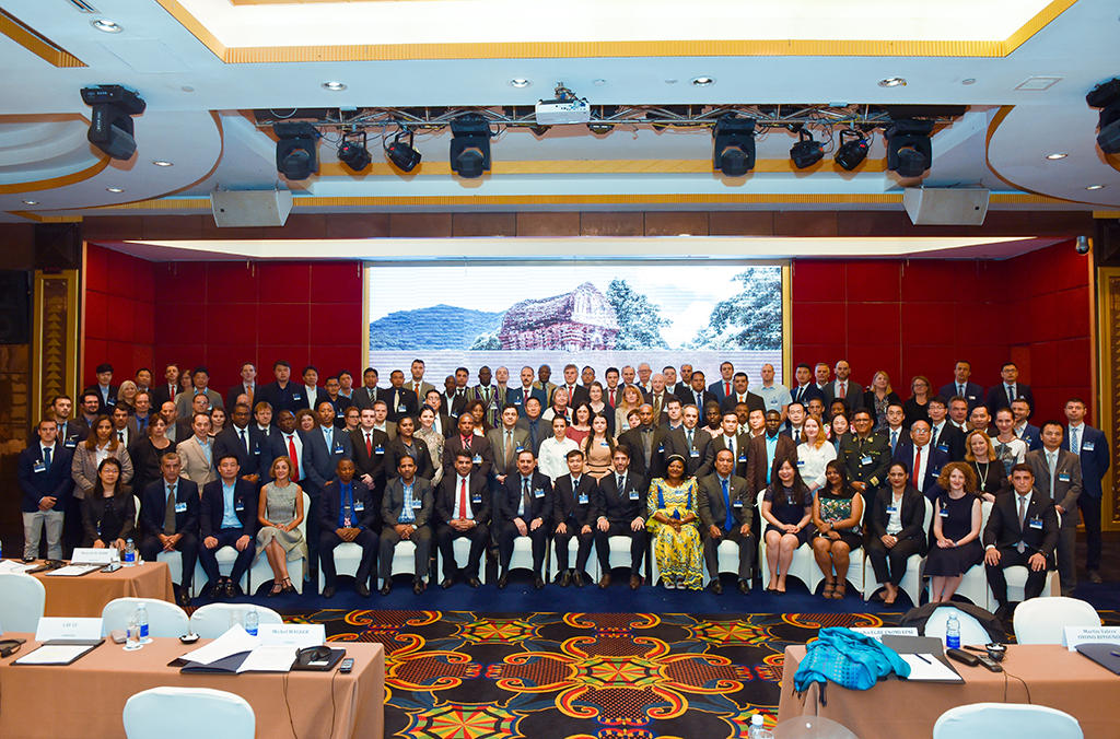 INTERPOL's 10th International Symposium on the Theft of and Illicit Traffic in Works of Art, Cultural Property and Antiquities gathered 130 experts from 80 member countries.