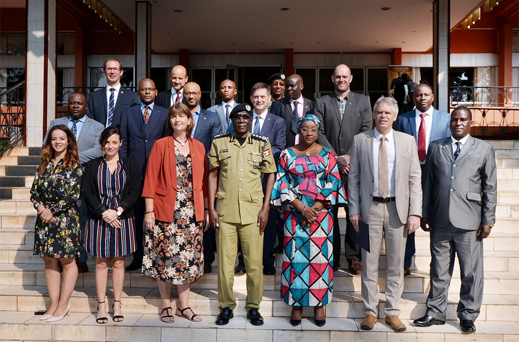 The awareness seminar brought together senior law enforcement officers from the Congo, Malawi, Niger and Uganda.