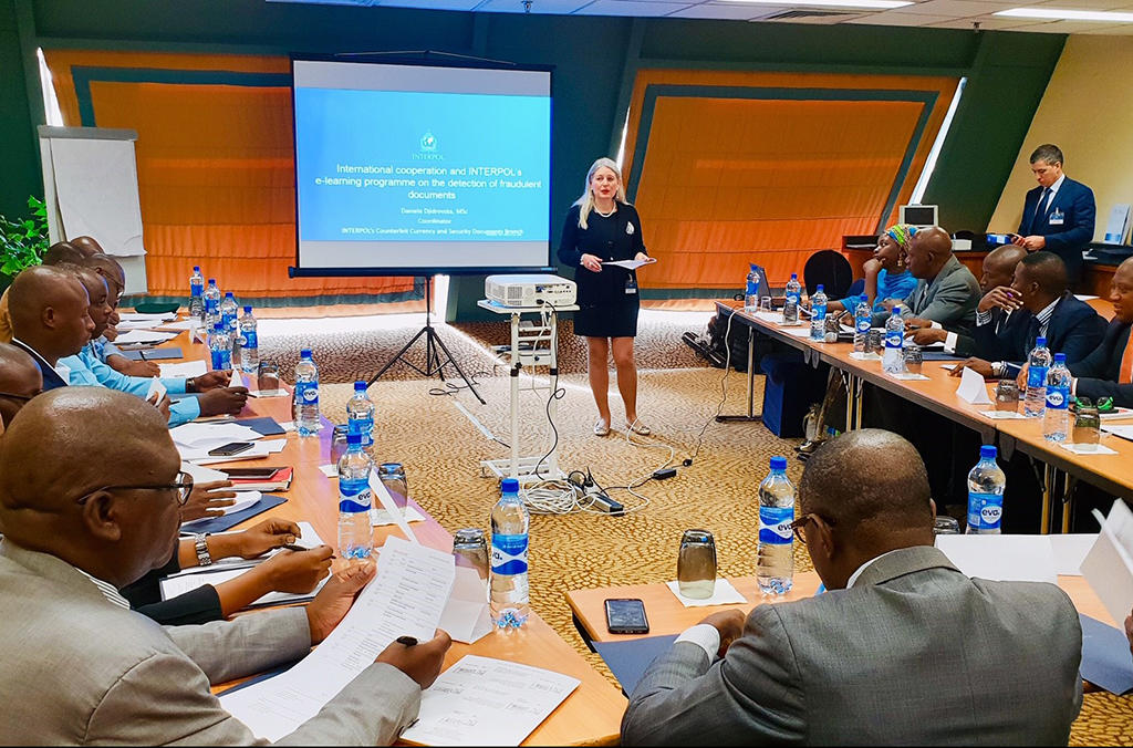 The training session has served to enhance regional expertise in detecting fraudulent travel documents, said INTERPOL Counterfeit Currency and Documents Coordinator Daniela Djidrovska.