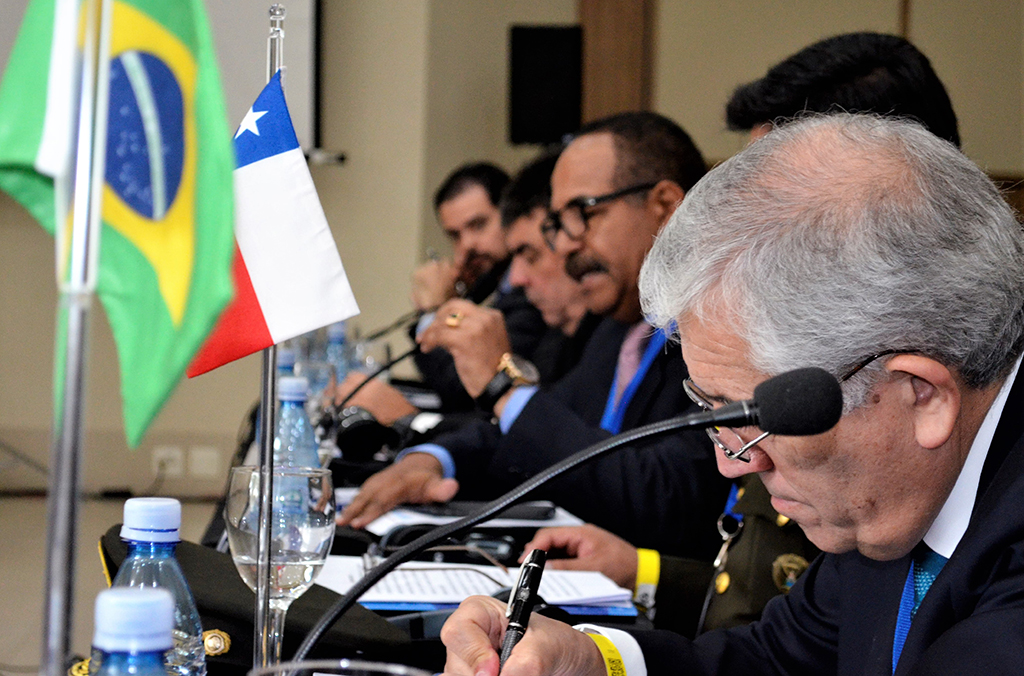 South American Police leaders concluded the INTERPOL summit with a call to boost the region's collective response to transnational organized crime and terrorism.