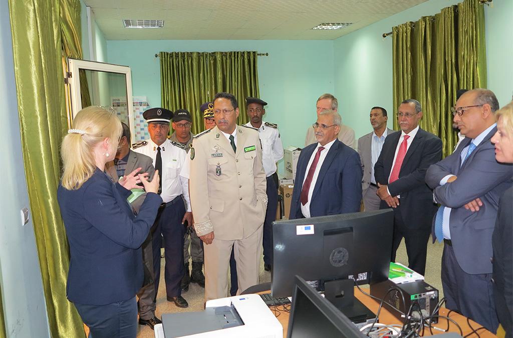 Cérémonie de remise de don d'équipements au gouvernement de la Mauritanie, 2 Décembre 2019,  Nouakchott (Mauritanie)