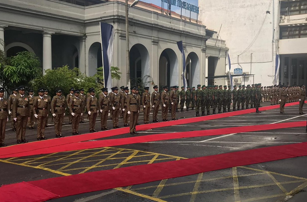 Combating the threat of terrorism was high on the agenda during the INTERPOL Chief's first official mission to Sri Lanka.