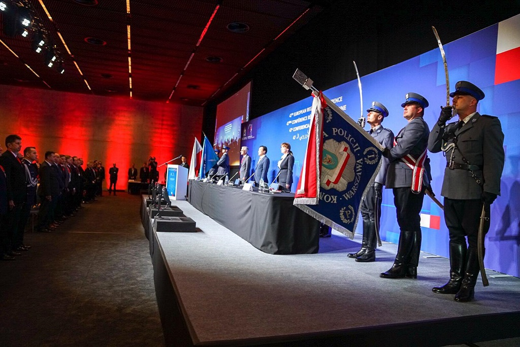 The 47th INTERPOL European Regional Conference is being held in Katowice, Poland from 29 to 31 May.