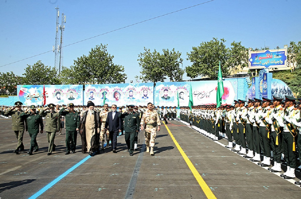 Iran Police graduation ceremony