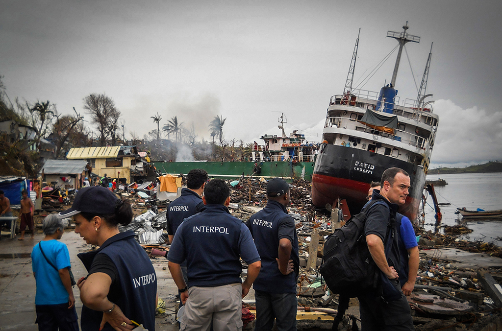 Tsunami INTERPOL response team