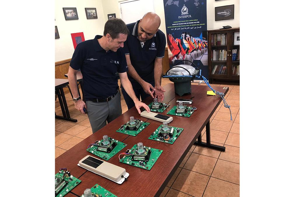La información digital en los dispositivos a bordo de embarcaciones puede ser fundamental para las investigaciones policiales.