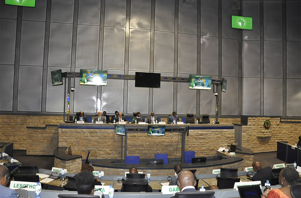 Secretary General Stock highlighted the support provided by the INTERPOL Regional Bureaus for Central, East, West and Southern Africa and the Special Representative office at the African Union.