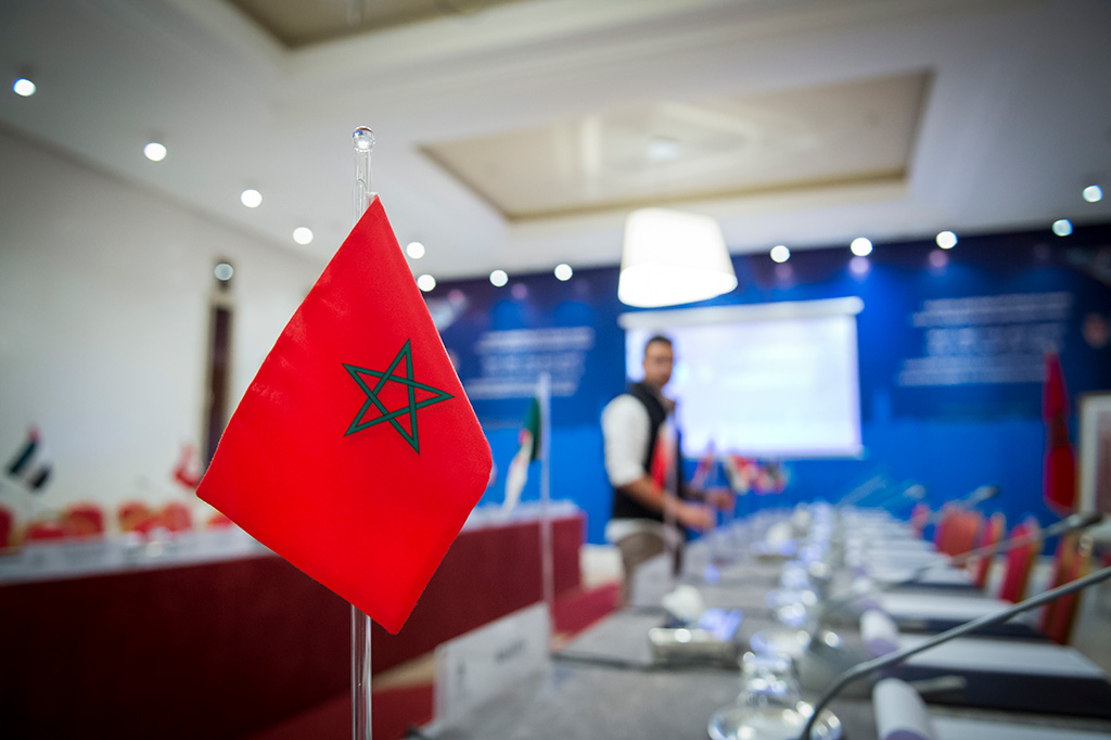 Senior police officials from the Middle East and North Africa are attending the two-day INTERPOL meeting being held in Marrakech, Morocco.
