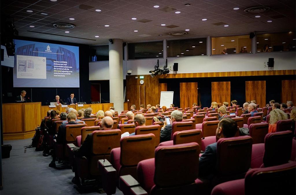 Senior European law enforcement officials addressed regional crime challenges.