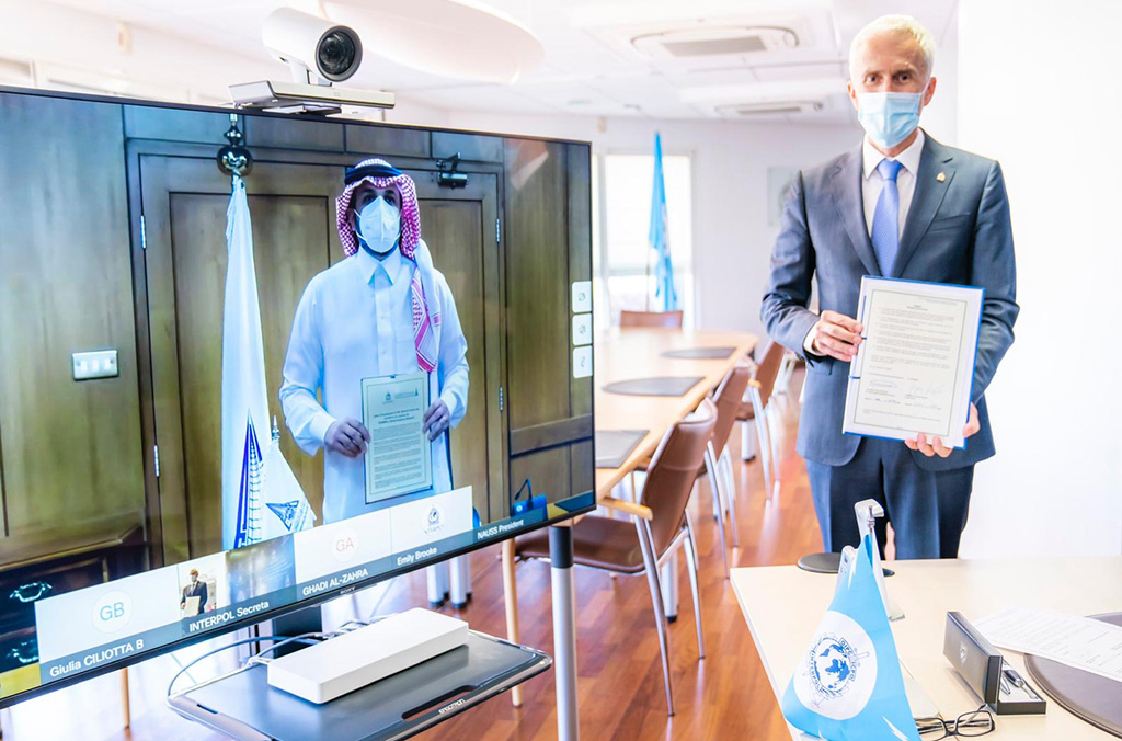 In a virtual ceremony, the Naif Arab University for Security Sciences officially joined the INTERPOL Global Academy.