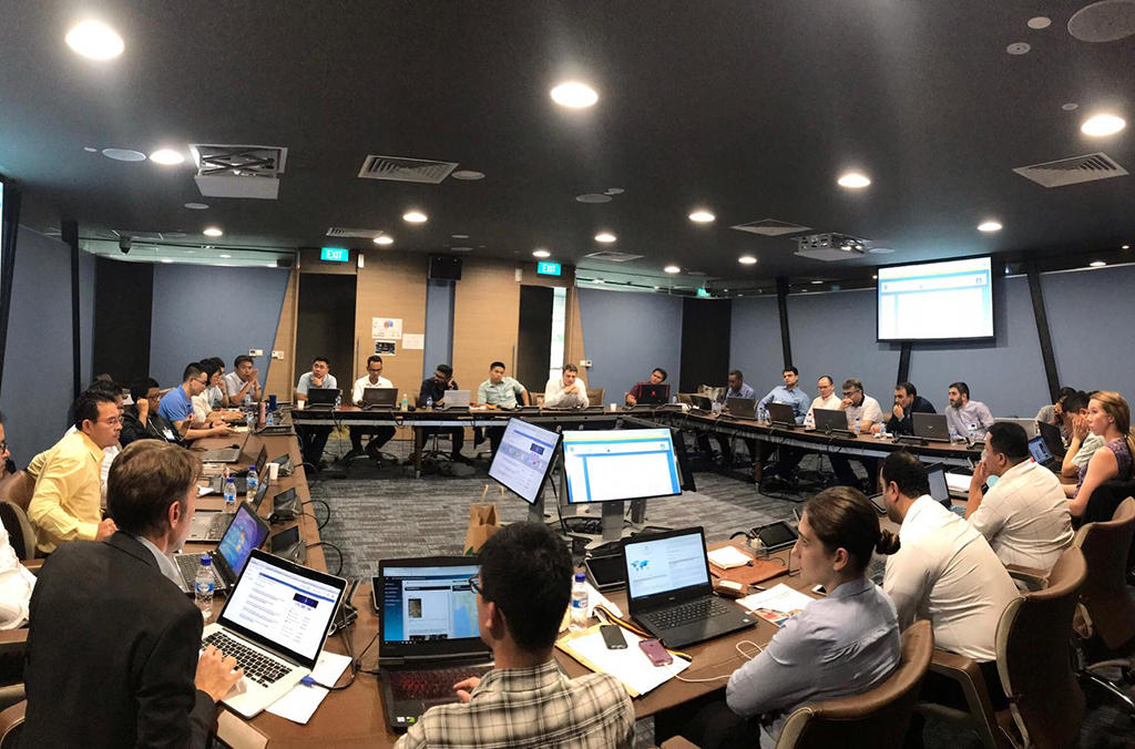 The INTERPOL Global Complex for Innovation in Singapore hosted one of the five regional operational coordination units during Operation Lionfish.