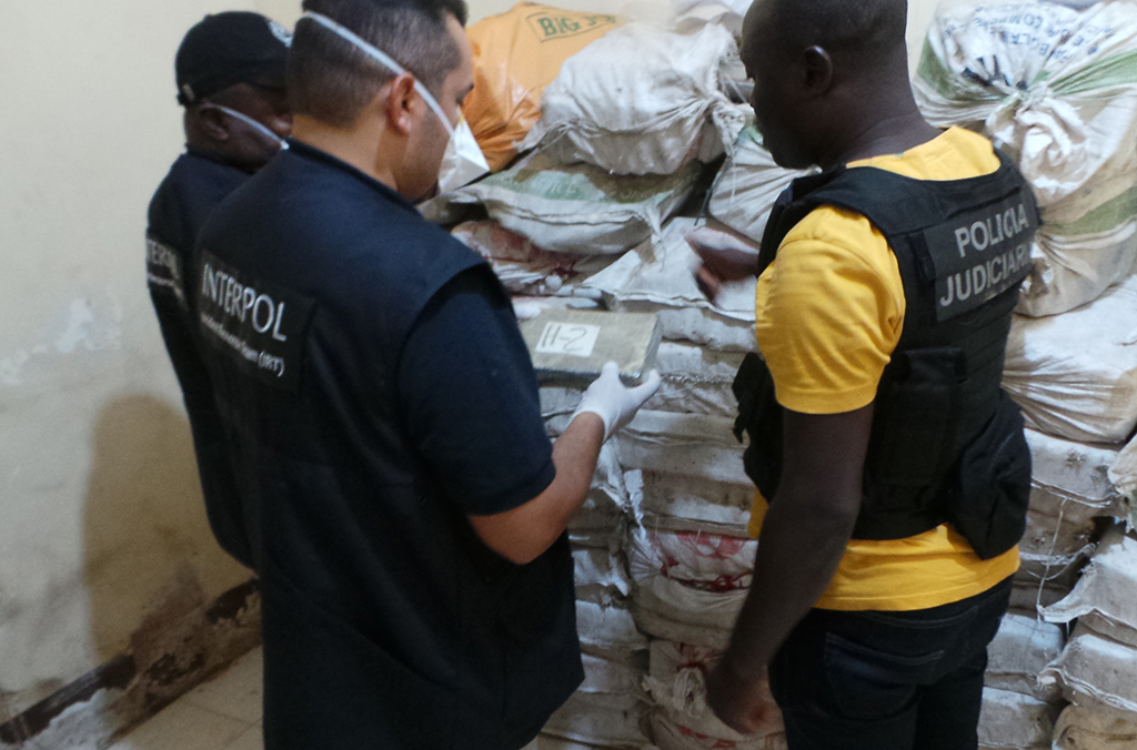 INTERPOL's Incident Response Team included experts in drug investigations, cybercrime, intelligence analysis, and financial crime.