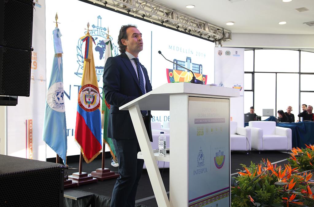 Federico Gutiérrez Zuluaga, maire de Medellin