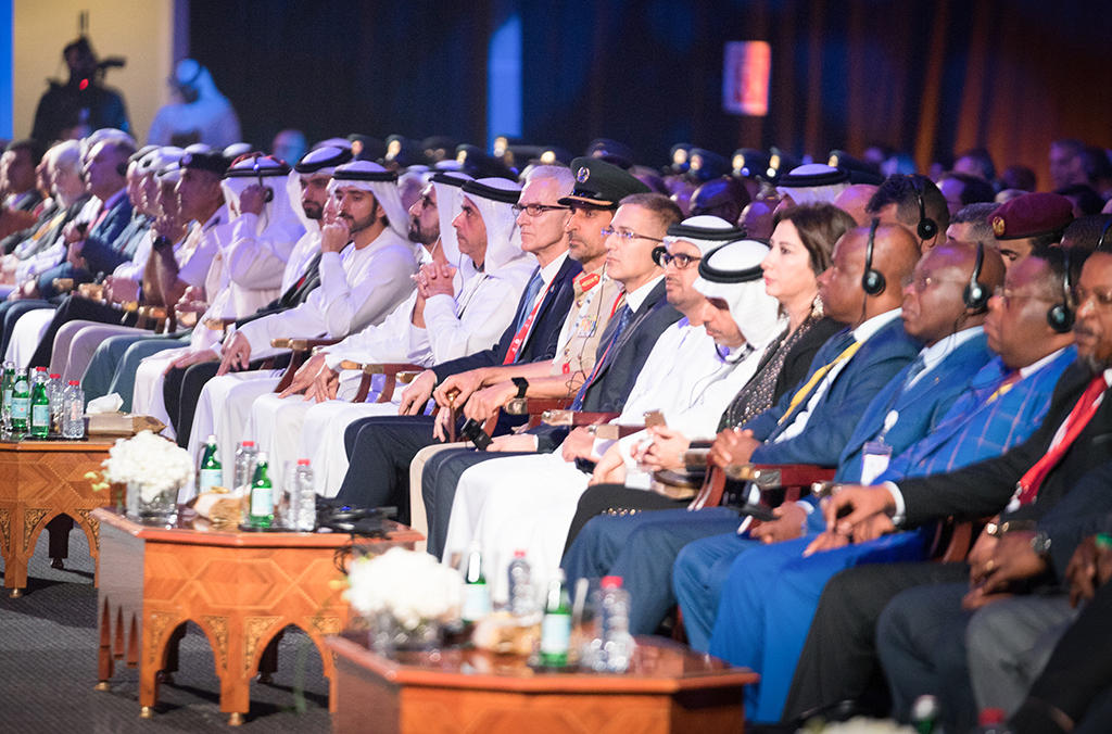Dignitaries at the opening of the 87th General Assembly in Dubai.