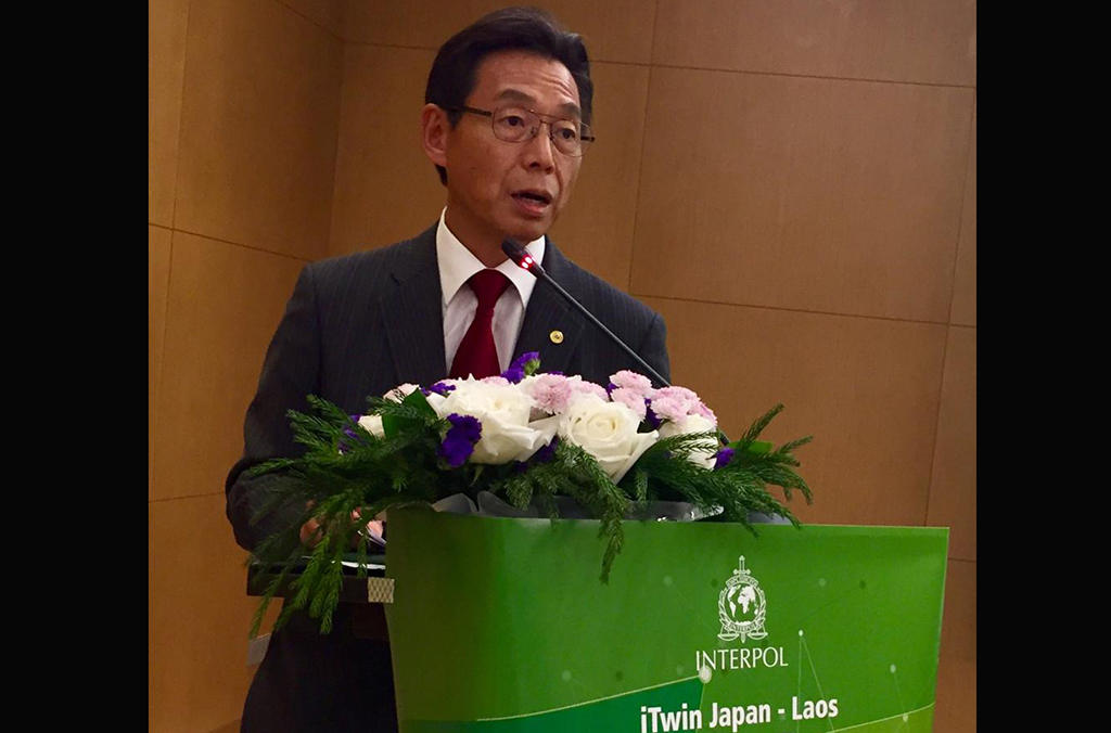 Japan's Ambassador to Laos Takeshi Hikihara explained that with the threat of terrorism in the Middle East and Africa spreading to Asia, the Lao government is working hard to improve its connectivity with neighboring countries, to shift from a landlocked to a land-linked country.