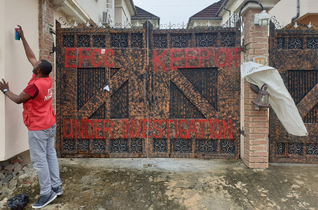 The Nigerian authorities seized property connected to the BEC fraud suspect.